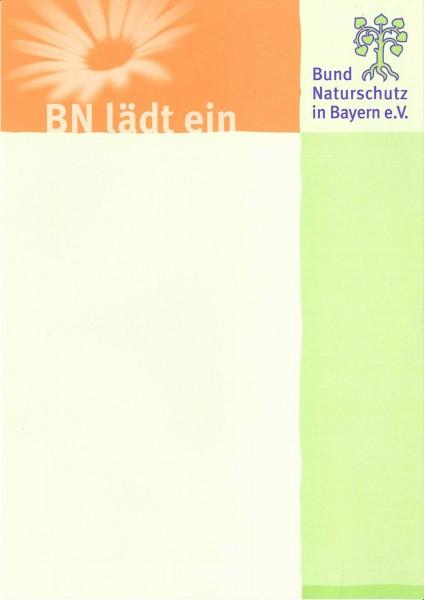 """Plakat """"BN lädt ein"""""""