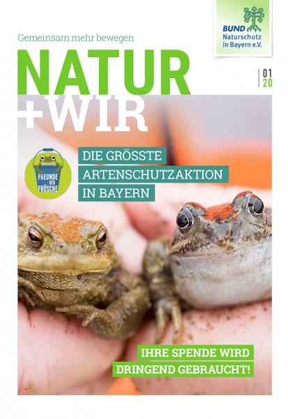 """Natur+Wir, 1/2020 """"Amphibienschutz"""""""
