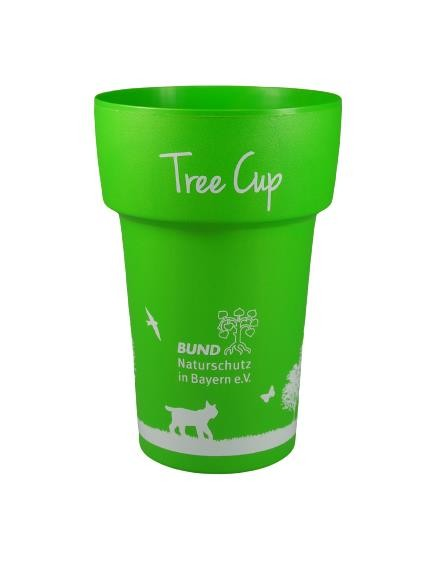 """Coffee to go Becher """"Tree Cup"""" mit BN-Logo"""