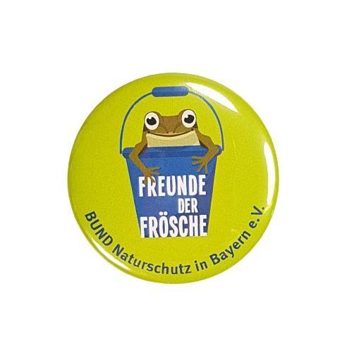 "Button ""Freunde der Frösche"""
