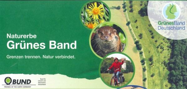 """Faltblatt """"Naturerbe Grünes Band"""""""
