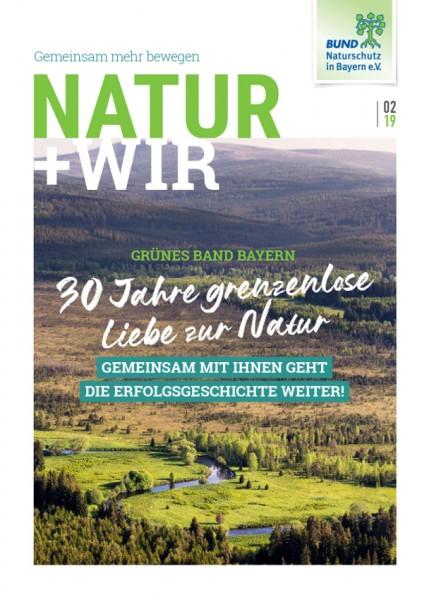 "Natur+Wir, 2/2019 ""Grünes Band Bayern"""