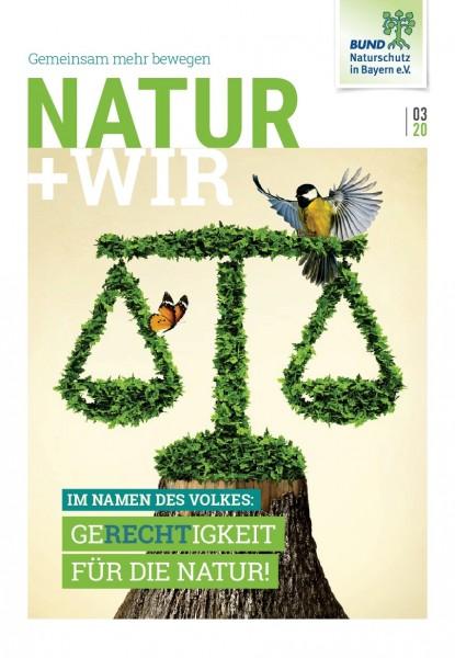 """Natur+Wir, 3/2020 """"Gerechtigkeit für die Natur"""""""