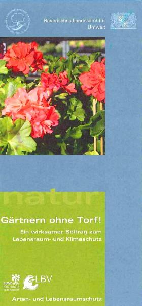 """Faltblatt """"Gärtnern ohne Torf"""""""