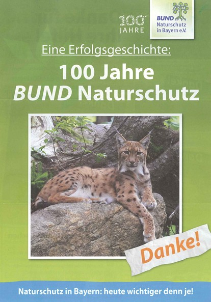 """Natur+Wir, 2/2013 """"100 Jahre BN - eine"""