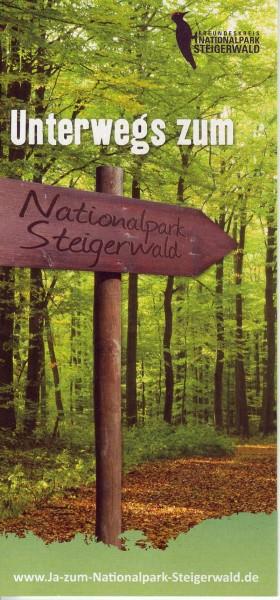 """Faltblatt """"Unterwegs zum Nationalpark"""