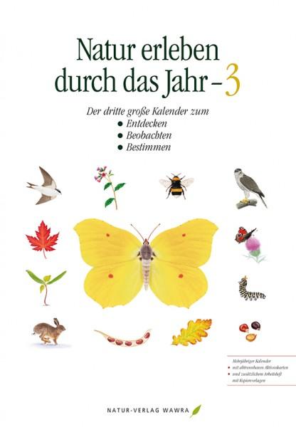 """Kalender """"Natur erleben durch das Jahr 3"""""""