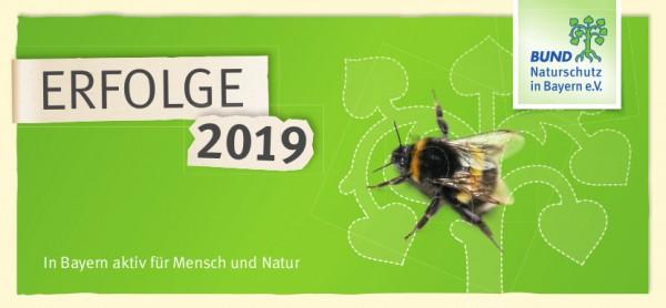 """Folder """"Erfolge 2019"""" mit Beitrittskarte"""