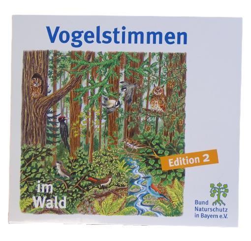 """Vogelstimmen-CD 2 """"Im Wald"""""""