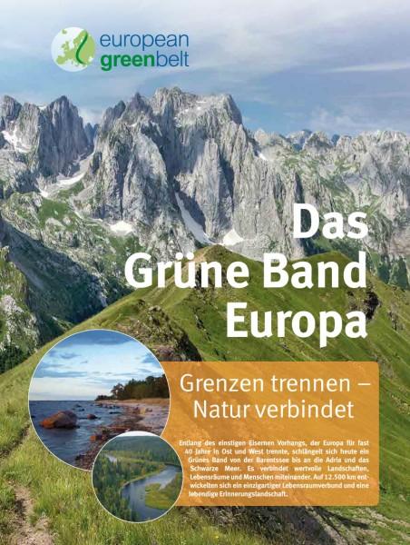 "Plakat ""Das Grüne Band Europa"""