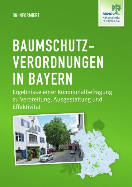 """BN informiert """"Baumschutzverordnungen in Bayern"""""""
