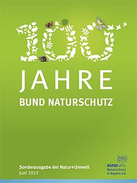 """""""100 Jahre BUND Naturschutz"""" (Sonderdruck"""
