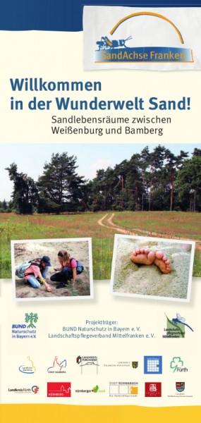 "Flyer ""SandAchse Franken"" (100 Stück)"