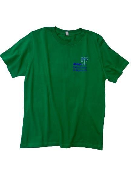 T-Shirt mit BN-Logo, Herren grün