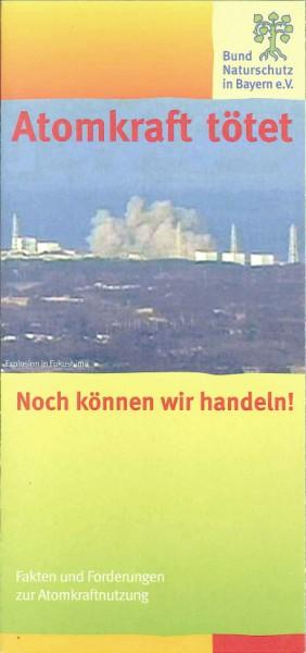 "Faltblatt ""Atomkraft tötet"""