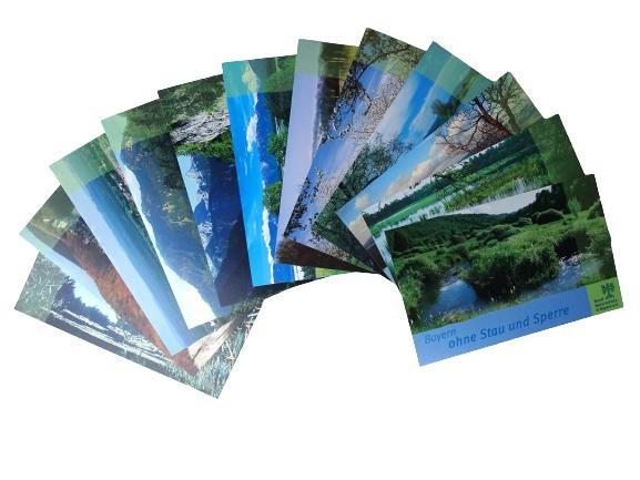 "Postkartenset ""Landschaften"" (12-teilig)"