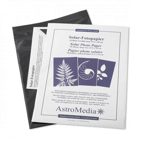 Solar-Fotopapier DIN A4