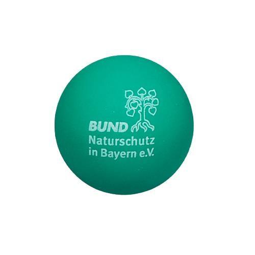 Gummiball mit BN-Logo