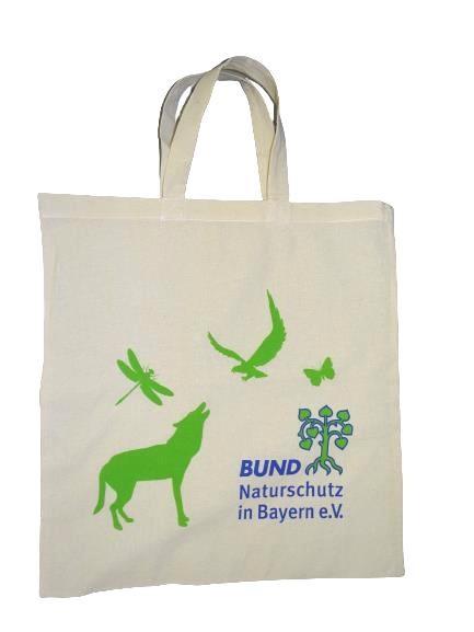 """Stofftasche aus Baumwolle """"BN-Logo"""""""