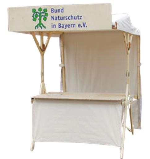 Holz-Infostand K150