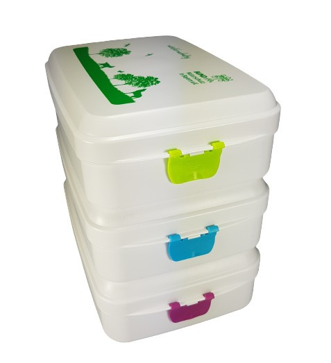 Brotdose aus Biokunststoff