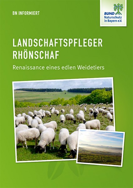 """BN informiert """"Landschaftspfleger Rhönschaf"""""""