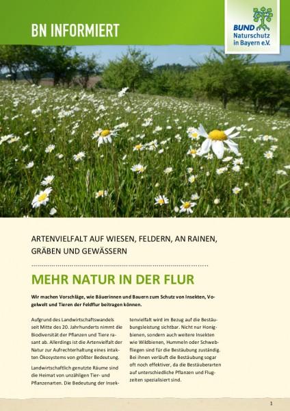 """BN informiert """"Mehr Natur in der Flur"""""""