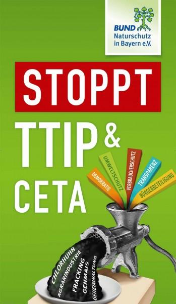 """Fahne """"Stoppt TTIP & CETA"""""""