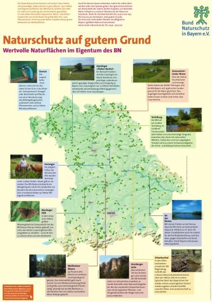 """Plakat """"Naturschutz auf gutem Grund"""""""