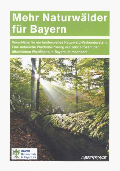 """Broschüre """"Mehr Naturwälder für Bayern"""""""