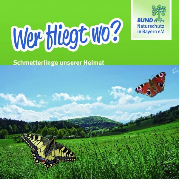 Wer fliegt wo? Schmetterlinge unserer Heimat
