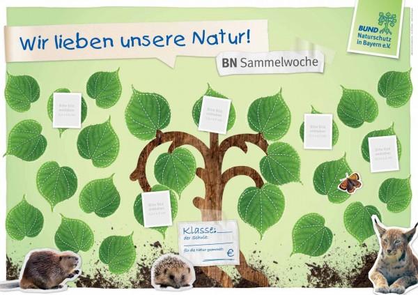 """HuS-Plakat """"Wir lieben unsere Natur"""""""