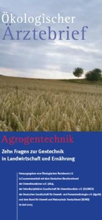 Faltblatt Ökologischer Ärztebrief -